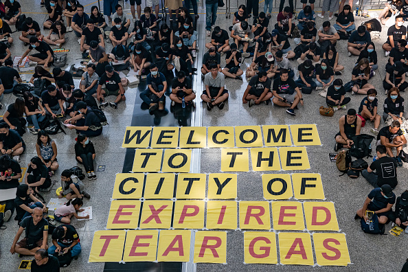 Hong Kong International Airport「Unrest In Hong Kong During Anti-Extradition Protests」:写真・画像(2)[壁紙.com]