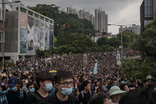 Protestor「Anti-Extradition Protests In Hong Kong」:写真・画像(14)[壁紙.com]