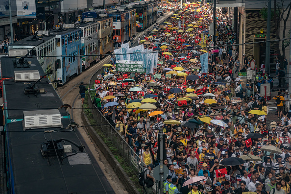 Extradition「Hong Kongers Protest Over China Extradition Law」:写真・画像(11)[壁紙.com]