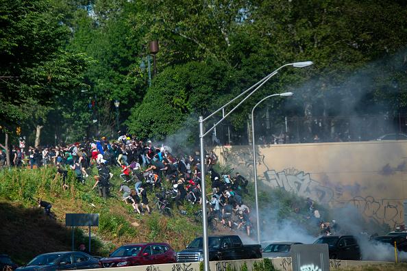 Center City - Philadelphia「Protests Continue In Philadelphia In Response To Death Of George Floyd In Minneapolis」:写真・画像(13)[壁紙.com]