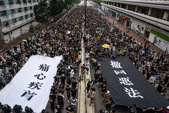 Protest「Anti-Extradition Protests In Hong Kong」:写真・画像(10)[壁紙.com]
