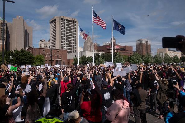 Protestor「Black Lives Matter Protests Continue Around Detroit」:写真・画像(7)[壁紙.com]