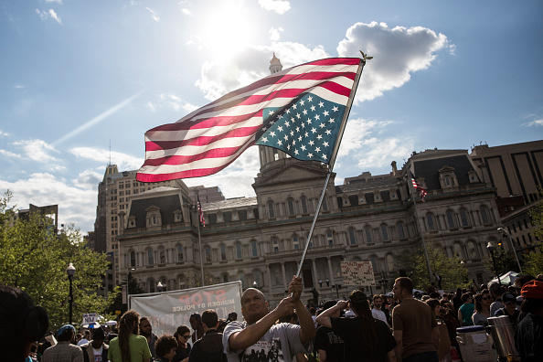 The Knife「Rally Held In Baltimore Day After Charges Announced Against Officers Involved In Freddie Gray Death」:写真・画像(5)[壁紙.com]