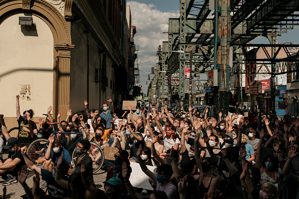 Borough - District Type「Protests Continue Across The Country In Reaction To Death Of George Floyd」:写真・画像(3)[壁紙.com]