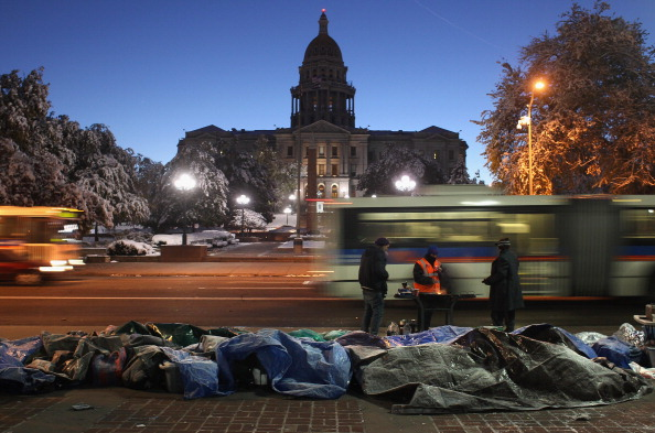 Dawn「Occupy Denver Continues Month-Long Protest Despite Severe Weather Conditions」:写真・画像(0)[壁紙.com]