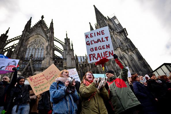 New Year「Women Protest Cologne Sex Attacks」:写真・画像(6)[壁紙.com]