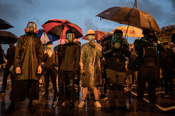 Bestof「Unrest In Hong Kong During Anti-Government Protests」:写真・画像(4)[壁紙.com]