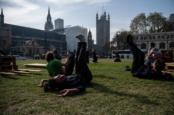 Yoga「Extinction Rebellion Protests Continue Over The Easter Bank Holiday」:写真・画像(1)[壁紙.com]