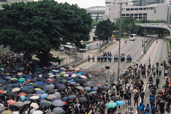 Extradition「Hong Kongers Protest Over China Extradition Law」:写真・画像(17)[壁紙.com]