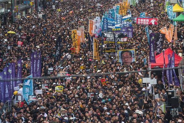Extradition「Anti-Extradition Protesters Rally In Hong Kong」:写真・画像(10)[壁紙.com]