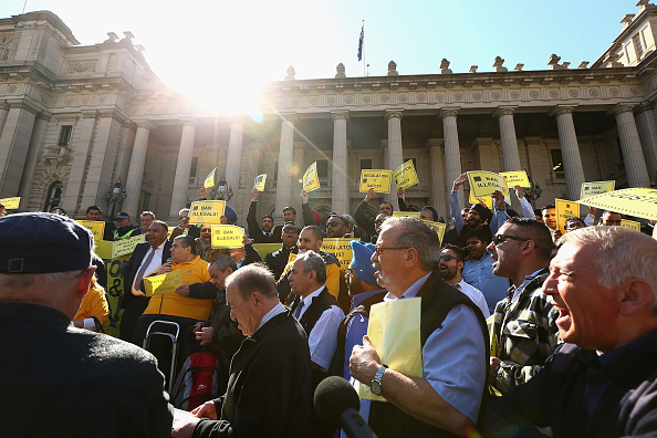 Finance and Economy「Melbourne Transport Network Disrupted As Taxi And Tram Drivers Strike」:写真・画像(19)[壁紙.com]