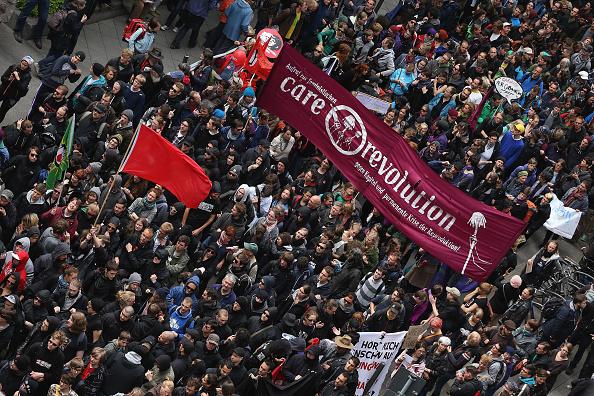 Blockupy「Blockupy Protests In Frankfurt」:写真・画像(10)[壁紙.com]