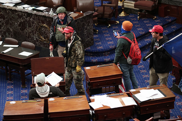 Win McNamee「Congress Holds Joint Session To Ratify 2020 Presidential Election」:写真・画像(3)[壁紙.com]