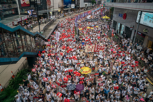 Extradition「Hong Kongers Protest Over China Extradition Law」:写真・画像(7)[壁紙.com]