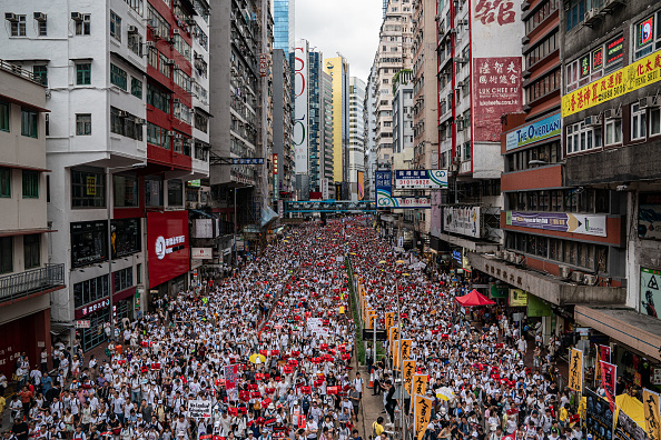 Protest「Hong Kongers Protest Over China Extradition Law」:写真・画像(5)[壁紙.com]