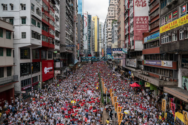 Hong Kongers Protest Over China Extradition Law:ニュース(壁紙.com)