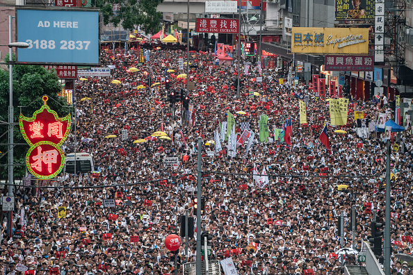 Protest「Hong Kongers Protest Over China Extradition Law」:写真・画像(15)[壁紙.com]