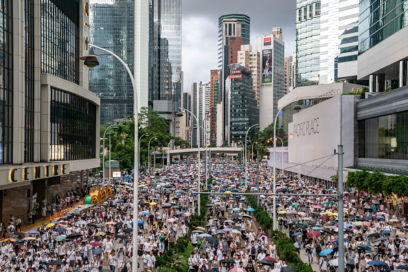 Protest「Hong Kongers Protest Over China Extradition Law」:写真・画像(6)[壁紙.com]