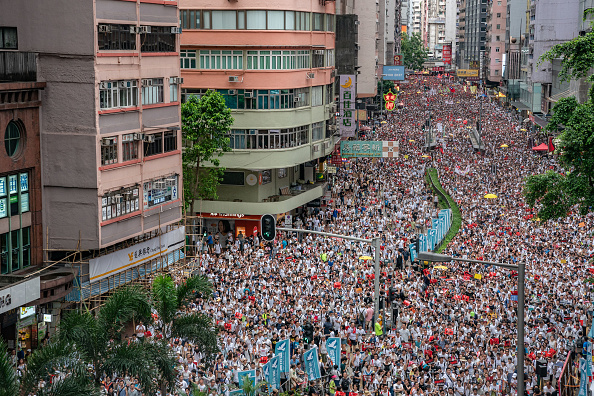 Protest「Hong Kongers Protest Over China Extradition Law」:写真・画像(9)[壁紙.com]