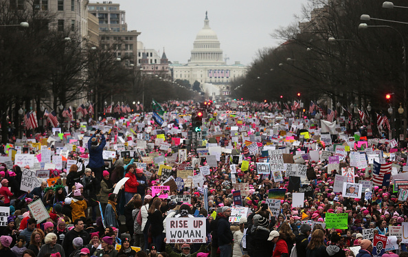 Protest「Thousands Attend Women's March On Washington」:写真・画像(1)[壁紙.com]