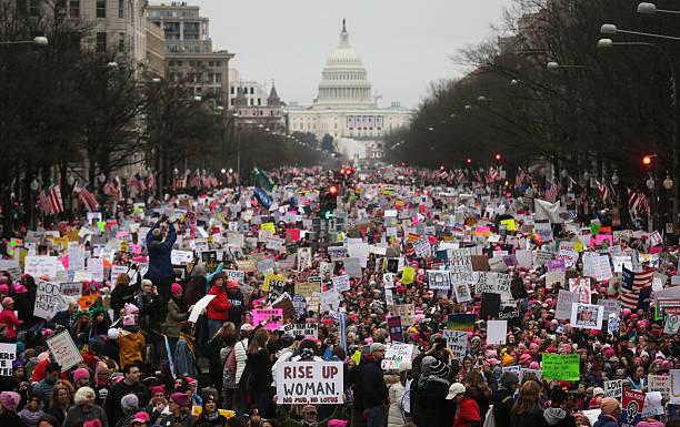 Thousands Attend Women's March On Washington:ニュース(壁紙.com)