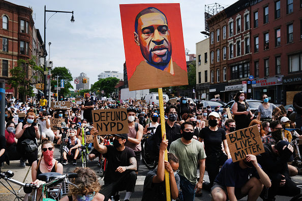 Social Justice - Concept「Protests Against Police Brutality Over Death Of George Floyd Continue In NYC」:写真・画像(7)[壁紙.com]