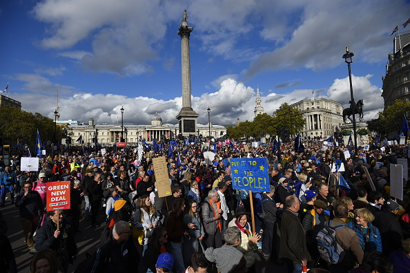 Brexit「People's Vote Campaign Rallies For Final Say On Brexit」:写真・画像(7)[壁紙.com]