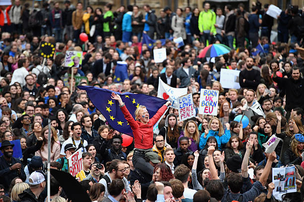 Protestors Attend Anti-Brexit Rallys Across The UK:ニュース(壁紙.com)