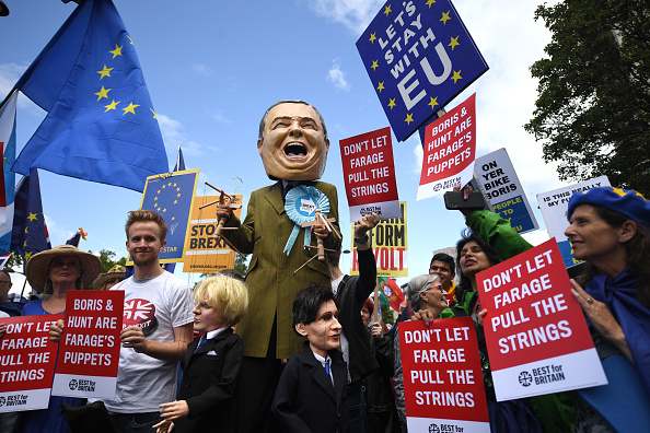 Brexit「No To Boris, Yes To Europe March」:写真・画像(2)[壁紙.com]