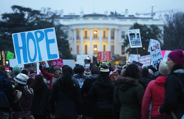 ワシントンDC「Thousands Attend Women's March On Washington」:写真・画像(10)[壁紙.com]
