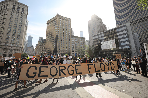 Protest「Protests Against Police Brutality Over Death Of George Floyd Continue In NYC」:写真・画像(8)[壁紙.com]