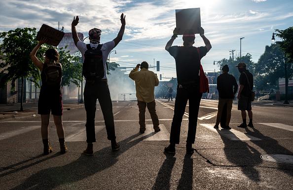 Minnesota「'I Can't Breathe' Protest Held After Man Dies In Police Custody In Minneapolis」:写真・画像(11)[壁紙.com]