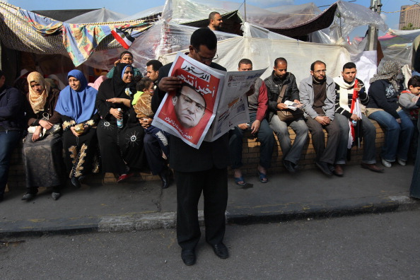 Cairo「Crowds Celebrate After Mubarak Steps Down」:写真・画像(18)[壁紙.com]