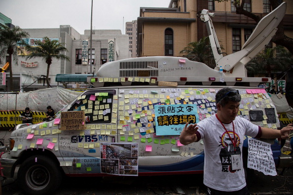 Information Medium「Student Protestors Continue To Occupy Taiwan's Parliament」:写真・画像(13)[壁紙.com]