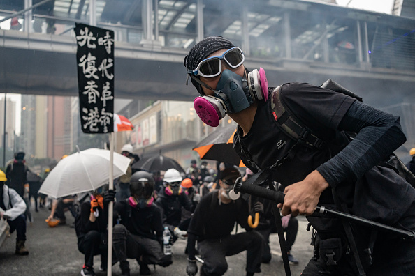 Brick「Unrest In Hong Kong During Anti-Government Protests」:写真・画像(9)[壁紙.com]