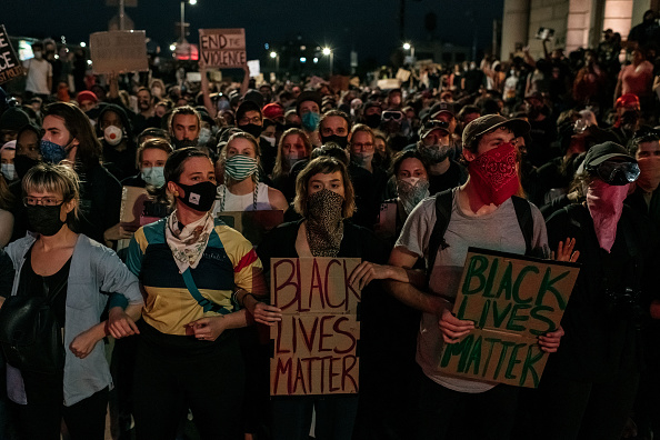 Protest「Protests Against Police Brutality Over Death Of George Floyd Continue In NYC」:写真・画像(7)[壁紙.com]
