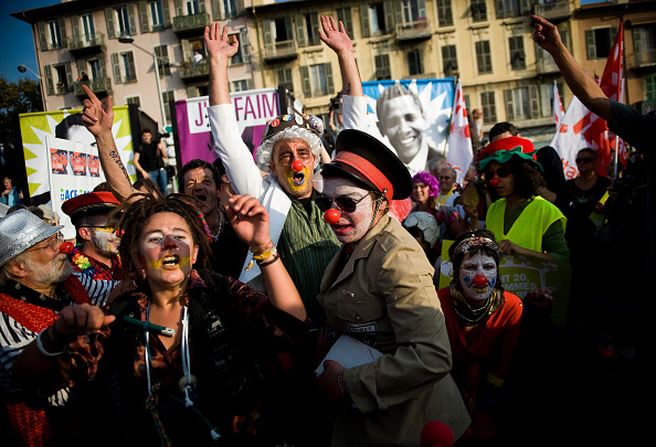 Nice - France「G20 Protesters Gather In Nice」:写真・画像(17)[壁紙.com]