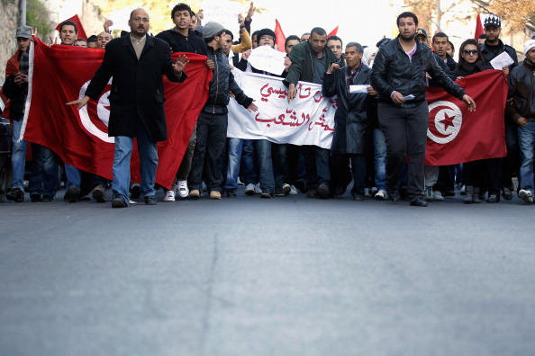 Tunisia「Demonstrations Continue In Tunisia As Calls Come For Dissolution Of Ruling Party」:写真・画像(13)[壁紙.com]