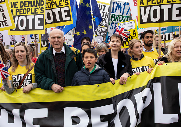 Brexit「Put It To The People March Takes Place In Central London」:写真・画像(9)[壁紙.com]