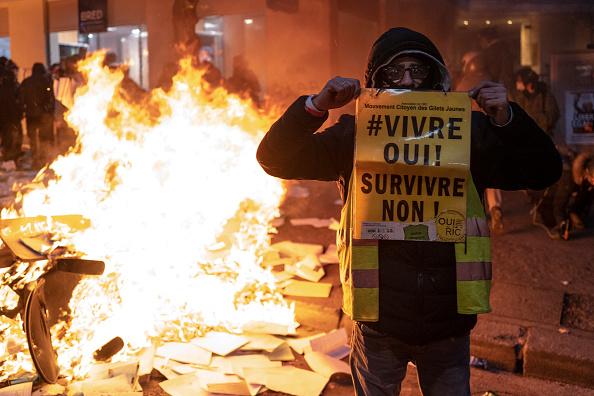Veronique de Viguerie「Protests Continue Over Proposed Security Law」:写真・画像(11)[壁紙.com]