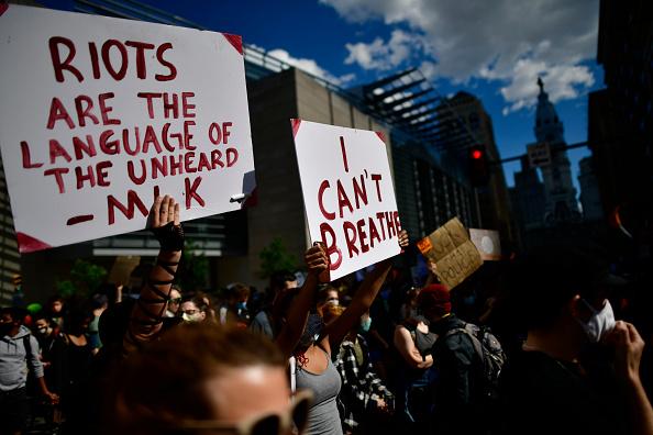 Center City - Philadelphia「Protests Continue In Philadelphia In Response To Death Of George Floyd In Minneapolis」:写真・画像(4)[壁紙.com]
