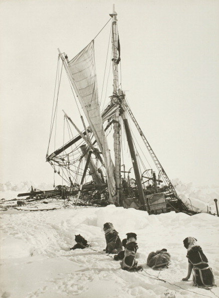 Ship「Endurance Crushed By The Ice」:写真・画像(8)[壁紙.com]
