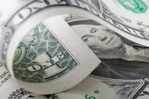 仕事運「1 ドル紙幣」:スマホ壁紙(5)