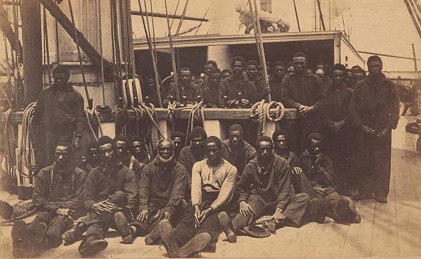 1860-1869「Contrabands Aboard US Ship Vermont」:写真・画像(18)[壁紙.com]