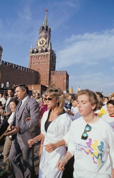 Healthy Eating「Jane Fonda in Moscow」:写真・画像(3)[壁紙.com]