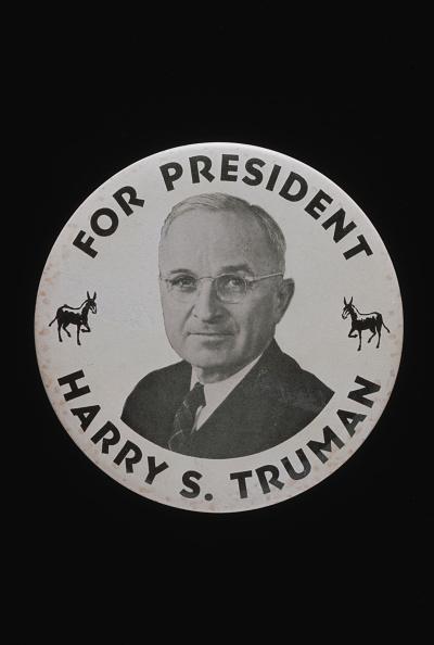 Harry Truman「US Election Badge」:写真・画像(1)[壁紙.com]