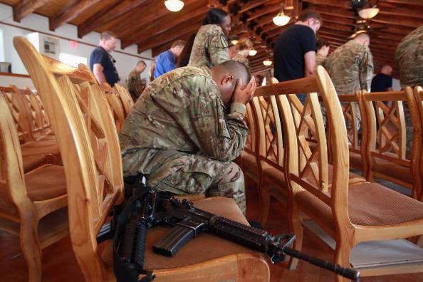 Bagram Air Base「U.S. Soldiers Commemorate 9/11 Anniversary At Bagram Air Field」:写真・画像(14)[壁紙.com]