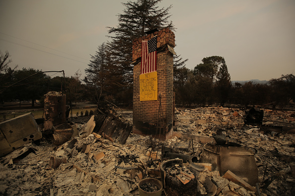 カリフォルニア州「Multiple Wildfires Continue To Ravage California Wine Country」:写真・画像(17)[壁紙.com]