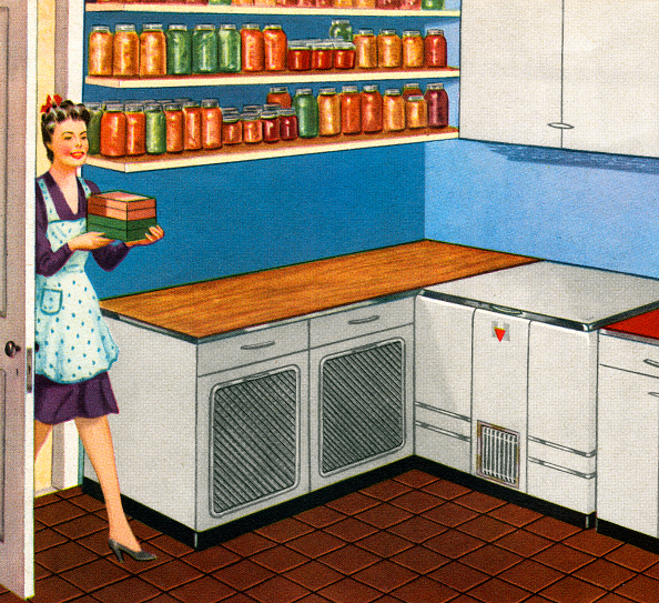 Kitchen「Housewife In Kitchen Pantry」:写真・画像(12)[壁紙.com]