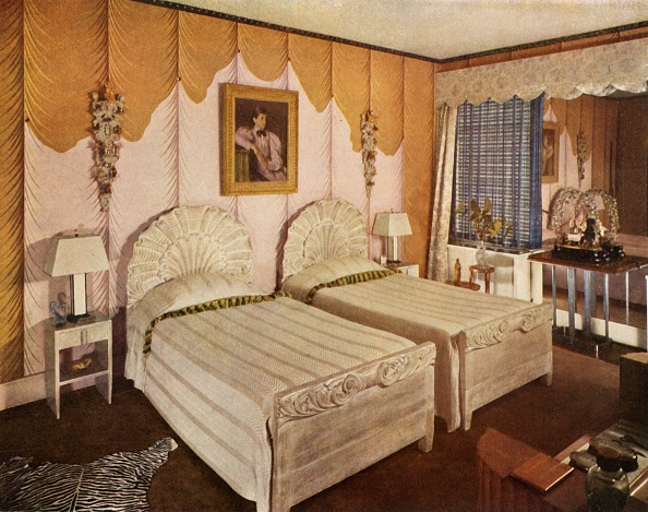Rhinestone「American Bedroom With Modern Interpretation For George G Frelinghuysen」:写真・画像(6)[壁紙.com]